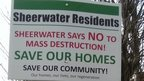 Sheerwater protest sign
