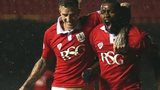 Bristol City striker Jay Emanuel Thomas