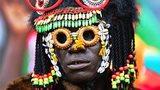 A Burkina Faso fan