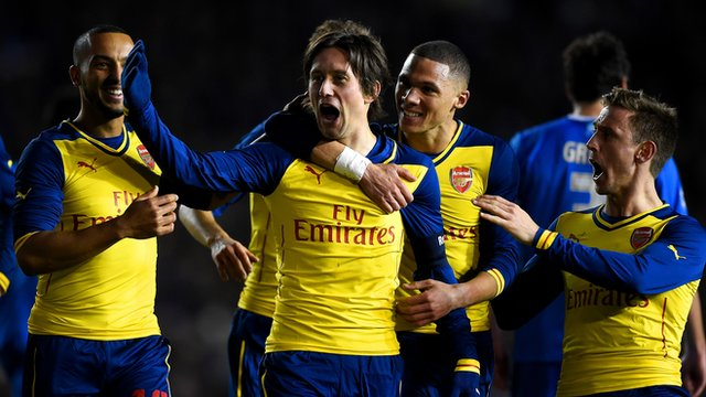 FA Cup: Brighton and Hove Albion 2-3 Arsenal highlights