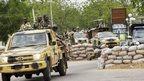 Nigerian troops in Maiduguri, file pic