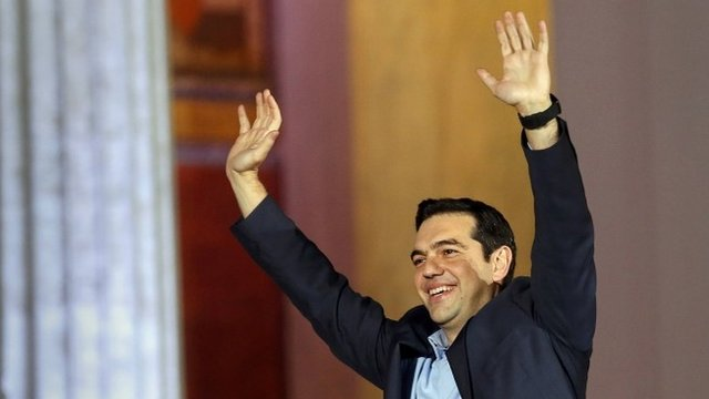 Anti-austerity party wins Greek poll...