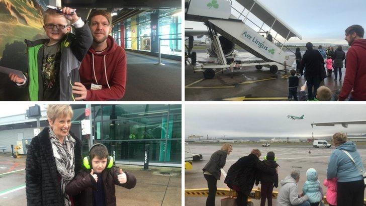 Belfast City Airport autism