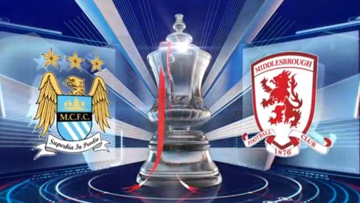 Manchester City v Middlesbrough