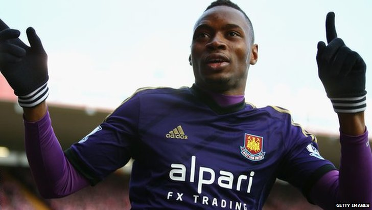 West Ham striker Diafra Sakho