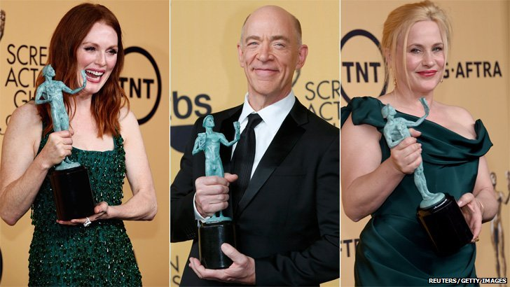 Julianne Moore, JK Simmons and Patricia Arquette