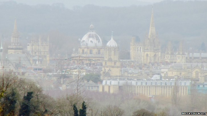 Misty Oxford