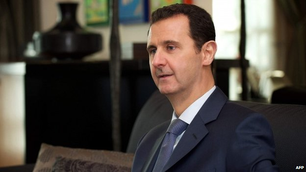 """Bashar al-Assad considera """"ilusório"""" plano dos EUA de treinar rebeldes contra o Estado Islâmico"""
