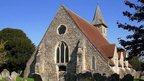 St Thomas à Becket church in Warblington