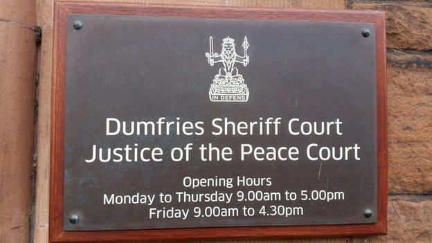 Dumfries Sheriff Court