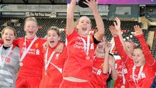 Liverpool Ladies win WSL title