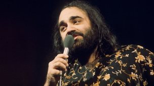 Demis Roussos on Top of the Pops in 1976