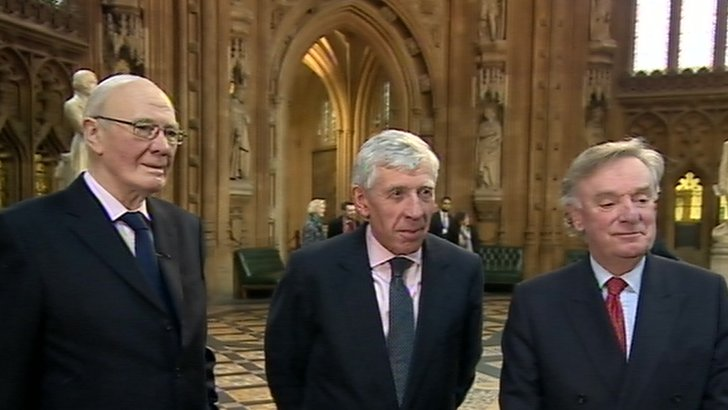 Sir Menzies Campbell, Jack Straw & Sir Richard Ottoway
