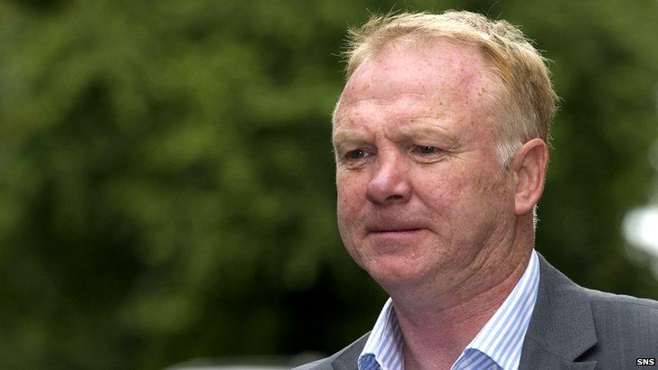 Former Rangers boss Alex McLeish