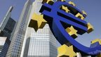 Euro sign outside the ECB