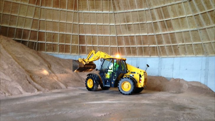 Birkenhead salt dome