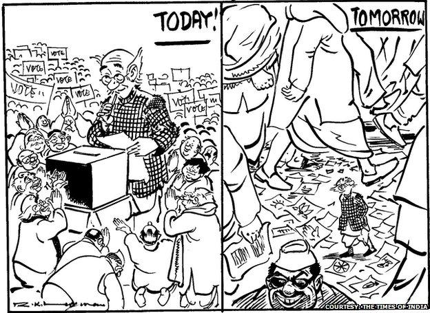 Rk Laxman Cartoonist Behind India S Common Man Bbc News