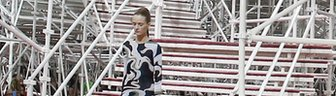 Models take to the catwalk for the Christian Dior haute couture spring/summer show in Paris