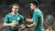 Ireland scrum-halves Conor Murray and Eoin Reddan are both injury doubts for the Six Nations game in Rome
