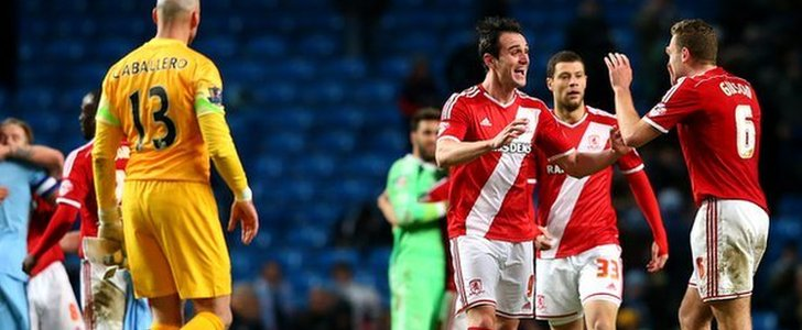 Middlesbrough celebrate win