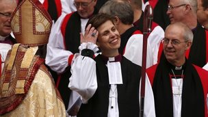 Bishop Libby Lane and the Archbishop of Canterbury