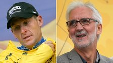 Lance Armstrong and Brian Cookson