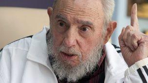 Fidel Castro. Photo: 11 July 2014