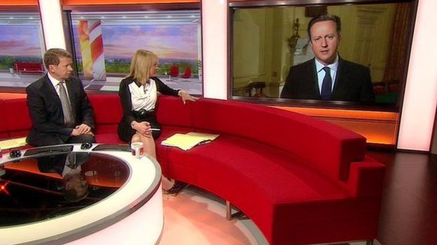 David Cameron on Breakfast