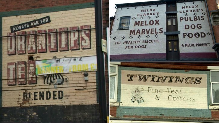 Ghost signs in Birmingham