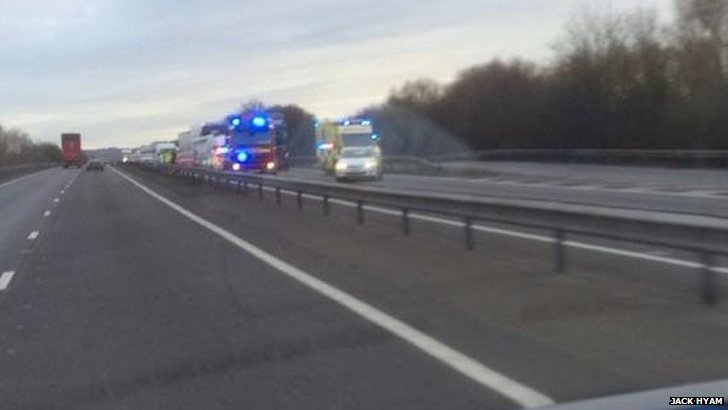A34 accident