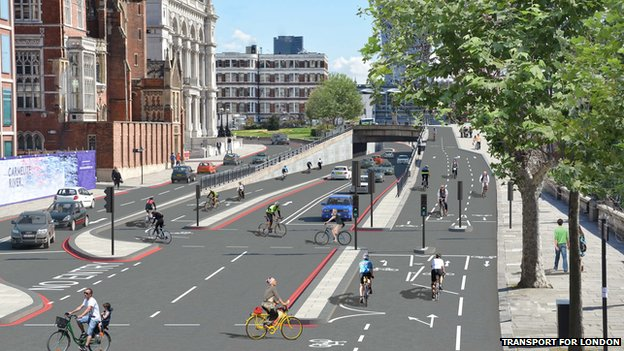 Cycle superhighway plan