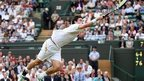 Jamie Baker on Centre Court