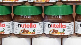 Nutella jars (April 2014)