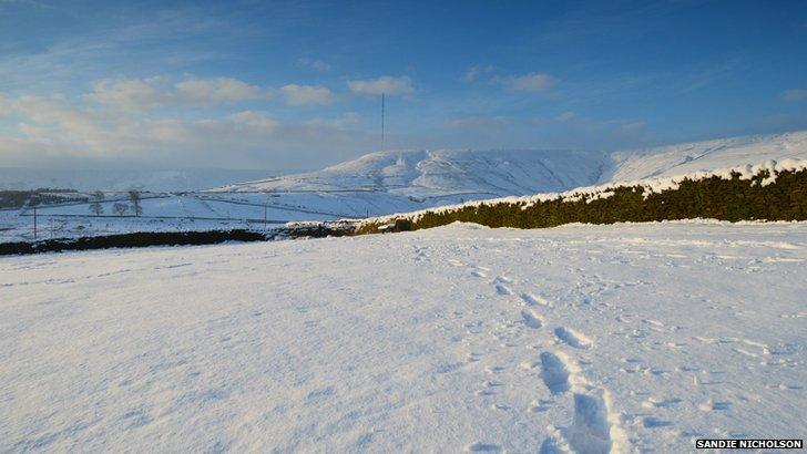 Snow at Holme