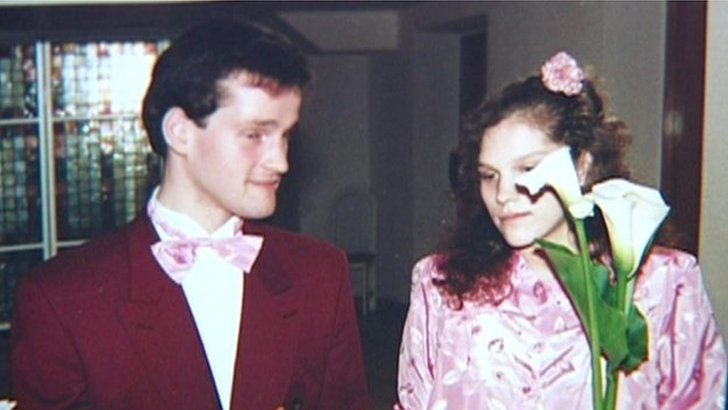 Arnis Zalkalns and his wife who he murdered