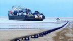Jersey-France undersea electricity cable being laid