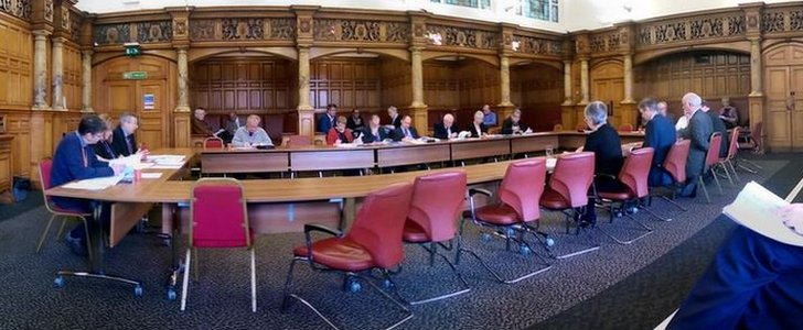 Council cabinet meeting