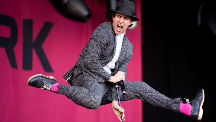 Paul Smith from Maximo Park