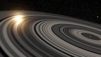 rings around saturn
