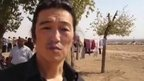 Still image purported to show Kenji Goto