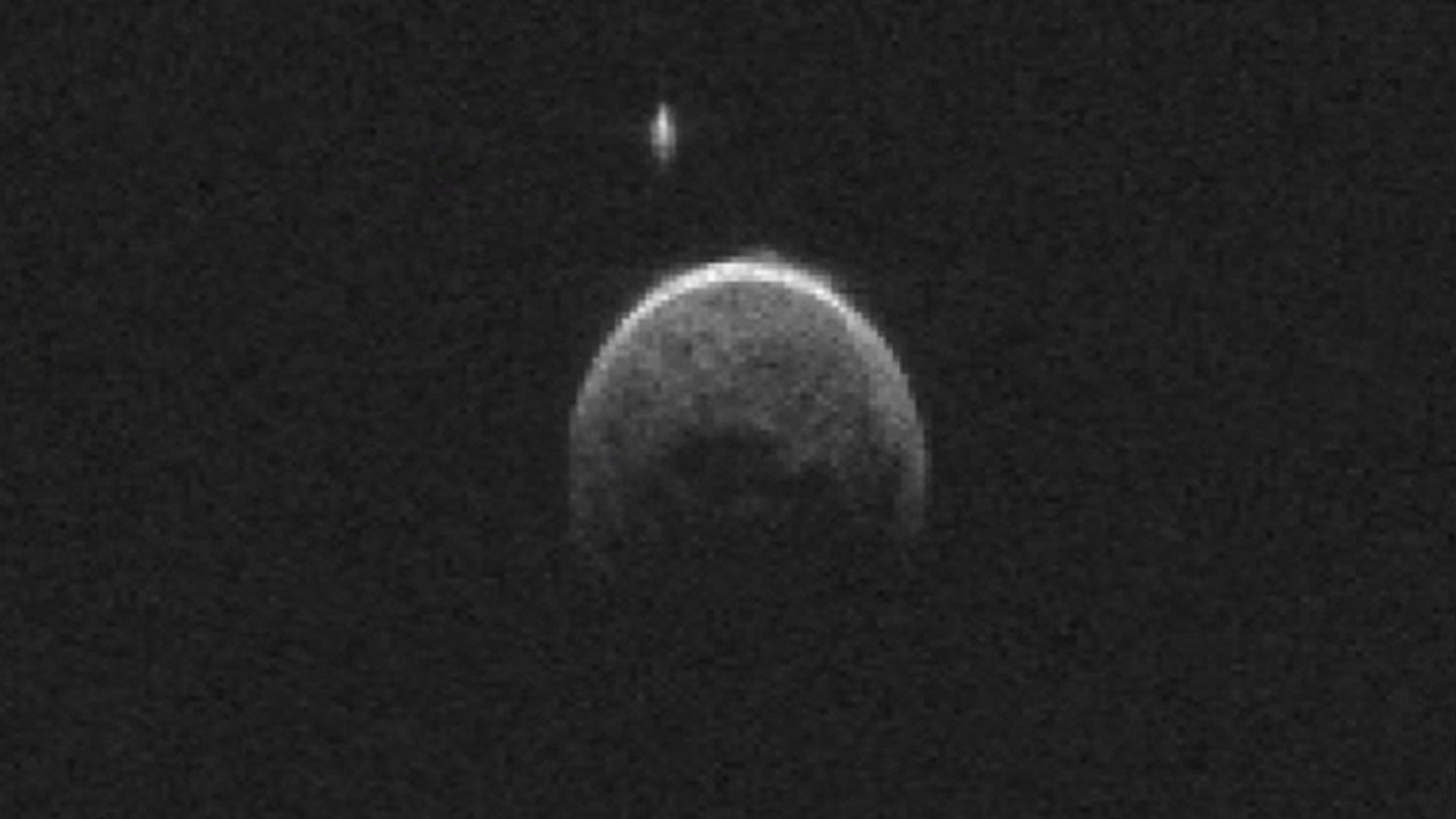 moon asteroid with its own - photo #2