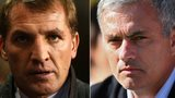 Brendan Rodgers & Jose Mourinho