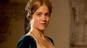 Charity Wakefield as Mary Boleyn in Wolf Hall