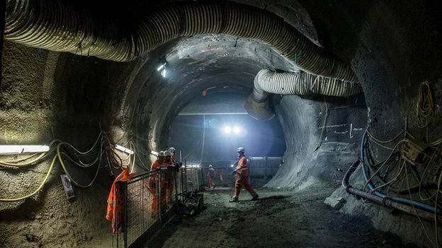 Crossrail tunnel