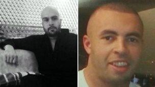 l-r Pragaret Singh, known as Charlie, and Kieran McGrath