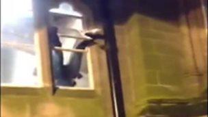 Arkwright building intruder