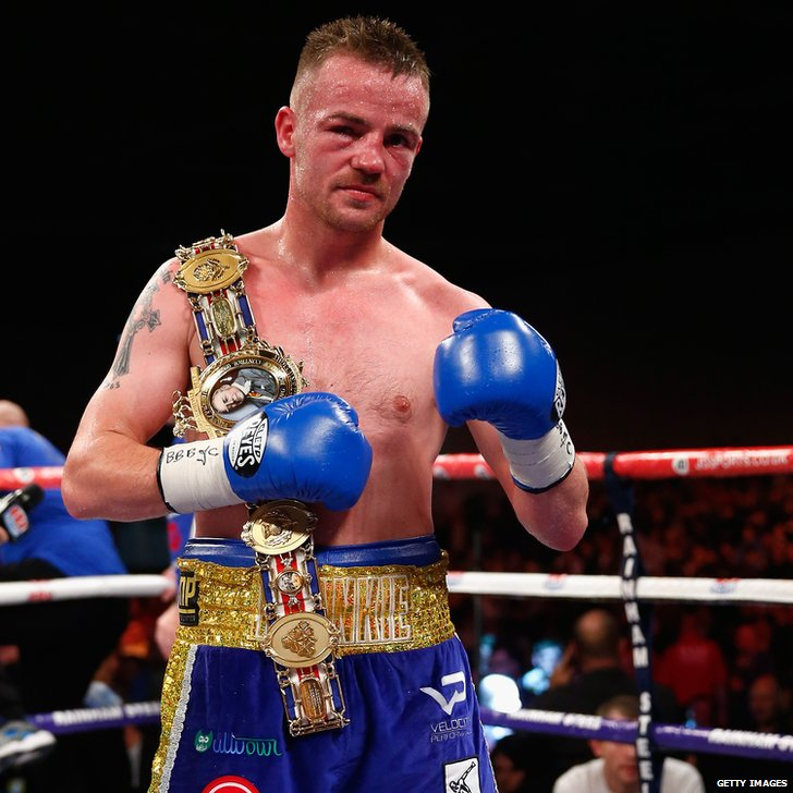Birmingham boxer Frankie Gavin