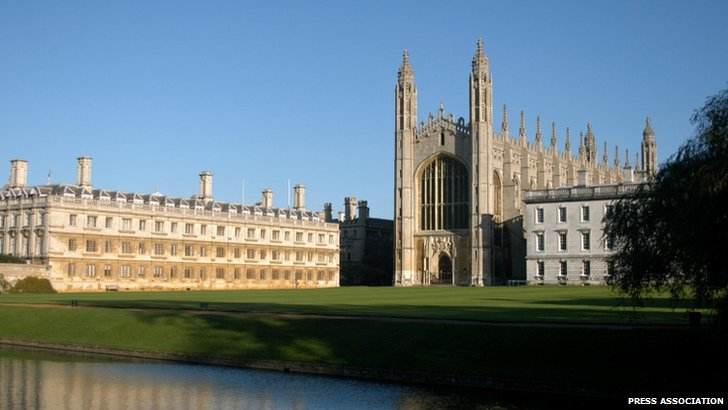 Kings College, Cambridge and Clare College, Cambridge