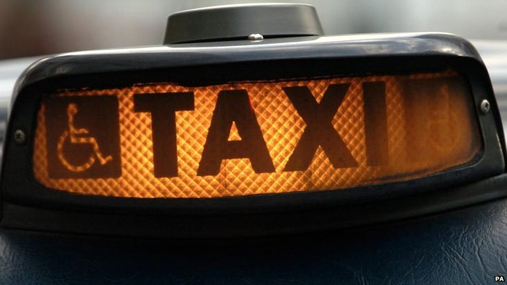 Taxi cab light