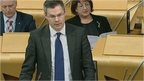 MSPs quiz Scottish government minister's at topical question time